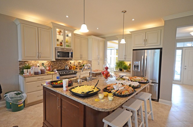 Rivertown Mattamy Home Preview - Kitchen