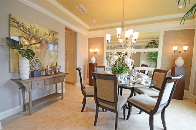 Rivertown Mattamy Home Preview - Dining Room