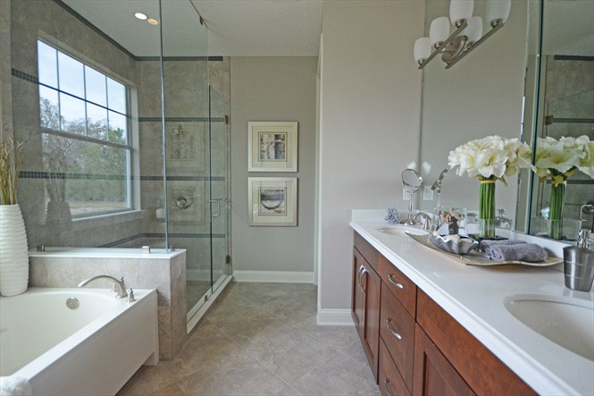 Rivertown Mattamy Home Preview - Master Bathroom