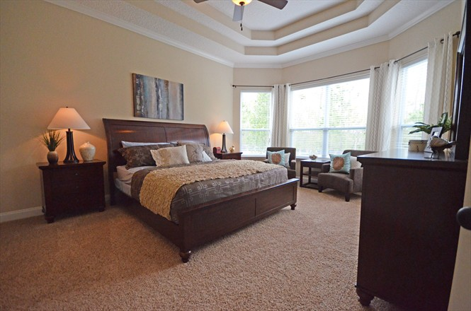 Rivertown Dennis Homes - Edgewater Master Bedroom