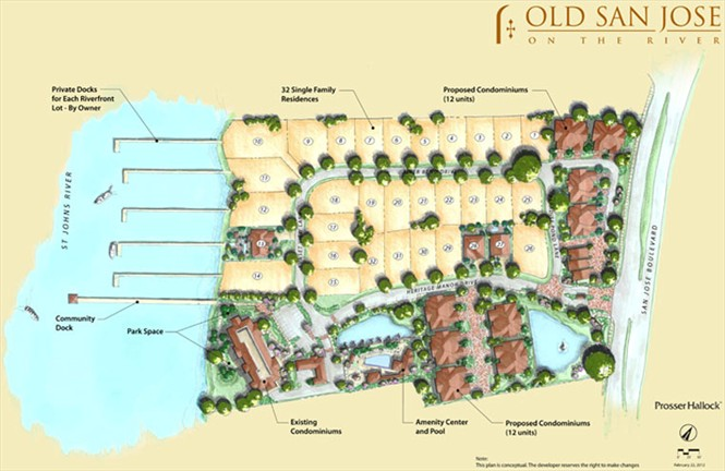 Old San Jose Single Family Homes Plan