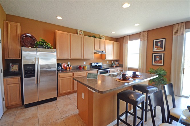 Victoria Preserve by KB Homes in Northside Jacksonville FL - Model Home Kitchen