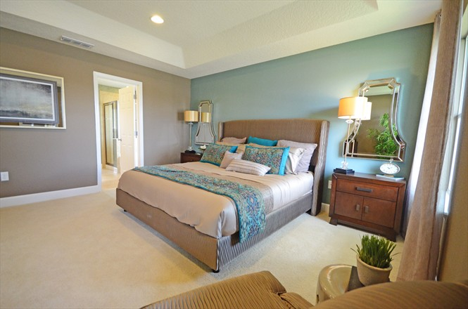 Cedar Bay by KB Homes Northside Jacksonville FL - Master Bedroom