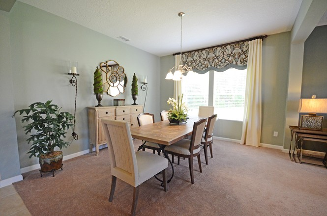 Yellow Bluff Landing New Home Community Northside Jacksonville FL - Dining Area