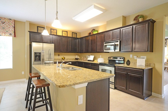 Yellow Bluff Landing New Home Community Northside Jacksonville FL - Model Home Kitchen