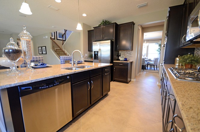 Silverthorn New Homes Community Dillon Model - Kitchen