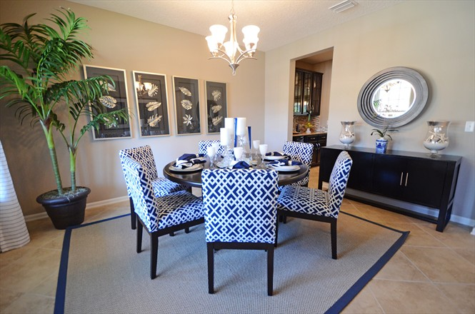 Silverthorn New Homes Community Dillon Model - Dining room
