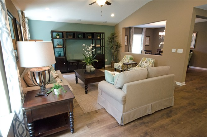 Ambridge Cove New Home Community in Northside Jacksonville FL - Living Room