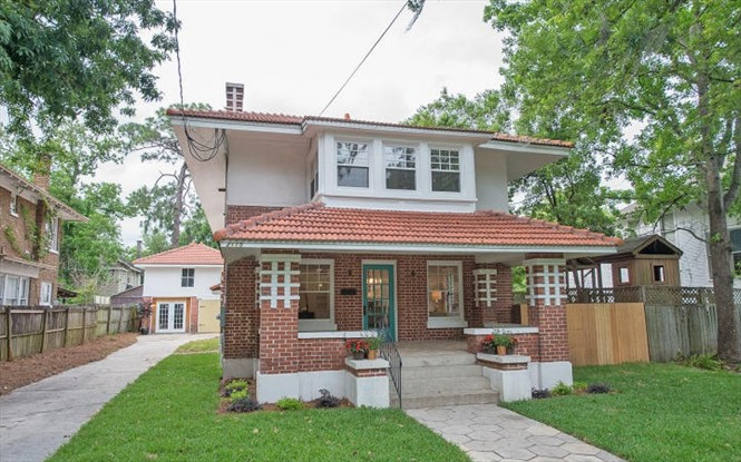 Renovated 1914 Craftsman Bungalow now on the market.
