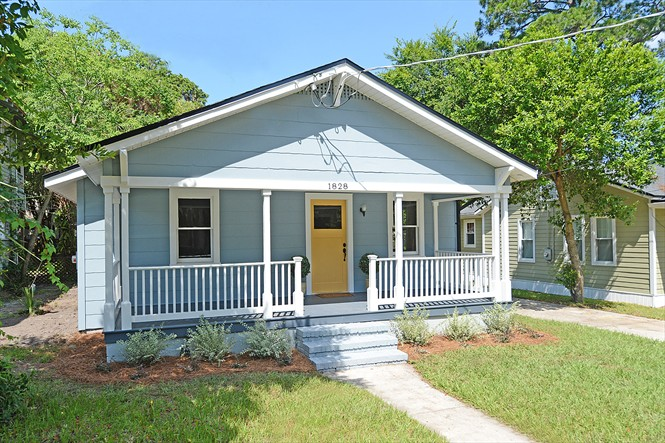 1828 Thacker Ave, San Marco Bungalow For Sale - Front