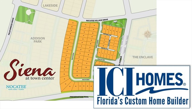 ICI beginning to release its 85 lots at Siena Nocatee.