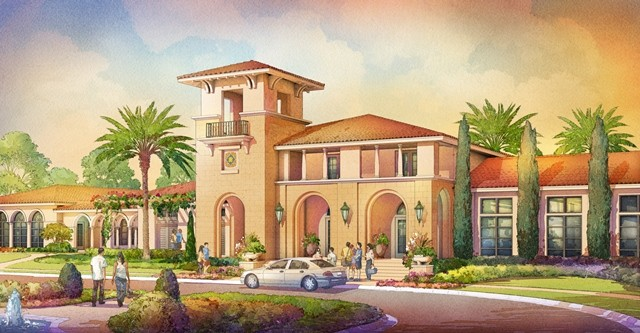 New 10,000 sq ft amenity center breaking ground at Tamaya