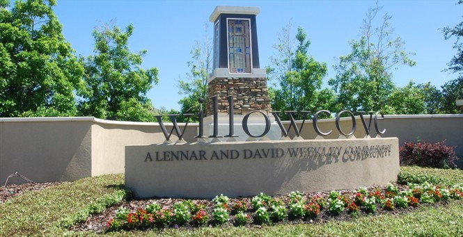 Currently, just two new townhomes remaining in Willowcove.
