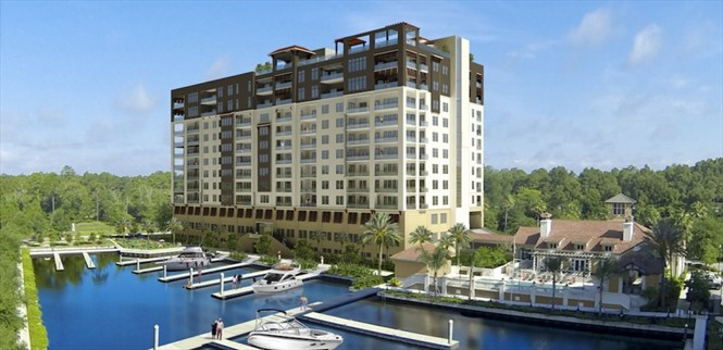 Aphora on the Intracoastal offers another upscale waterfront high-rise option.