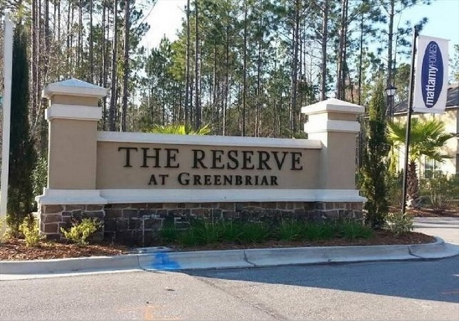 Preserve at Greenbriar homes by Mattamy start in the $300's.