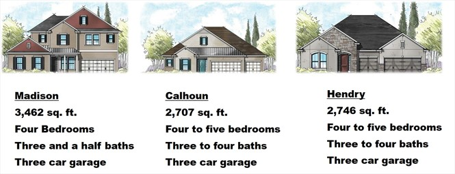 Three models have been introduced by Providence in Twenty Mile Village.