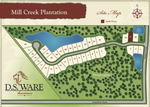 New in St. Johns County -- Mill Creek Plantation