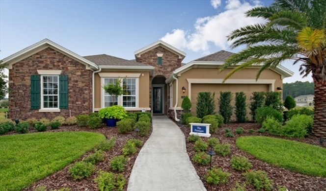 The Finnegan is one of only three David Weekley's models remaining in Willowcove.